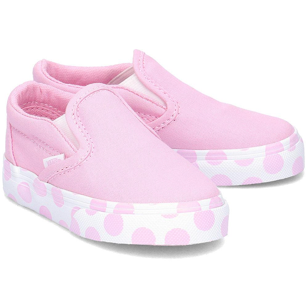 Białe Różowe Buty Dla dzieci Vans rozmiar 23,5