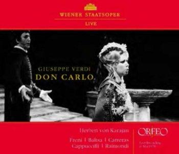 Verdi: Don Carlo-Ruggero Raimondi, Carreras Jose, Cappuccilli Piero, Salminen Matti, Freni Mirella, Baltsa Agnes, Gruberova Edita
