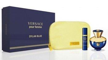 Versace, Pour Femme Dylan Blue, zestaw kosmetyków, 2 szt. + kosmetyczka-Versace