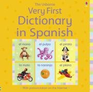 Very First Dictionary in Spanish-Brooks Felicity