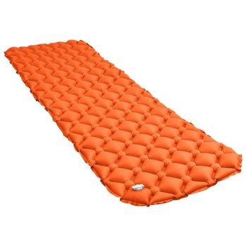 VidaXL, Dmuchany materac, pomarańczowy, 58x190 cm-vidaXL