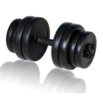 VidaXL, Hantel, czarny, 15 kg-vidaXL