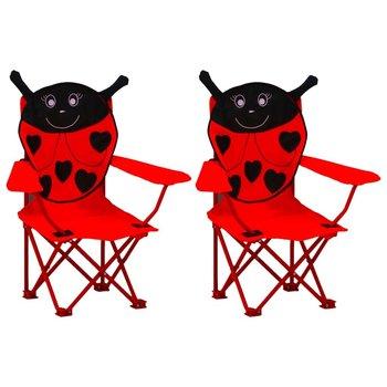 VidaXL, krzesełka ogrodowe dla dzieci, 2 sztuki-vidaXL