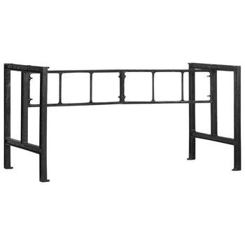 VidaXL Nogi do stołu jadalnianego,150 x 68 x 73 cm, żeliwo-vidaXL