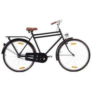"VidaXL, Rower holenderski, męski, 28"", czarny-vidaXL"