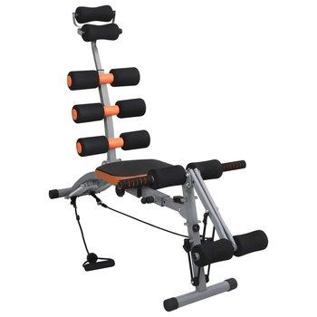 VidaXL, Trenażer mięśni brzucha z elastycznymi linkami, 103x55x94 cm-vidaXL