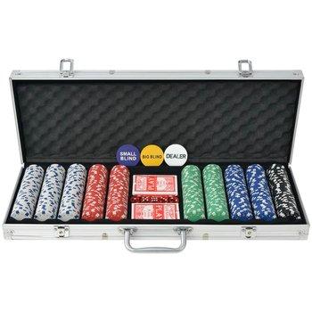 VidaXL, zestaw do gry w pokera-vidaXL