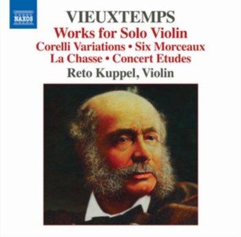 Vieuxtemps: Works For Solo Violin-Kuppel Reto