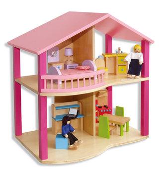 Viga, drewniany domek, Dollhouse-Viga