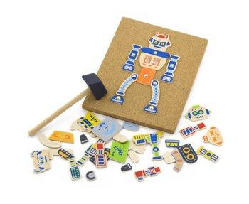 Viga, przybijanka Roboty-Viga