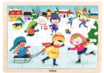 Viga, puzzle drewniane Zima-Viga