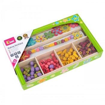 Viga Toys, zestaw kreatywny Koraliki do nawlekania-Viga