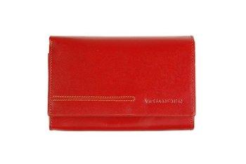 34f921edd5e73 Vip Collection Portfel damski skórzany, czerwona - | Moda Sklep ...