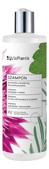 Vis Plantis, szampon do włosów z tendencją do przetłuszczania Rozmaryn, 400 ml-Vis Plantis