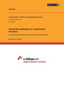 Visual Reconciliation in Transitional Societies - Anonym