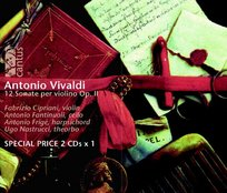 Vivaldi: 12 Sonate per violino op. 2