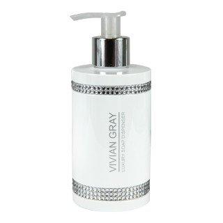 Vivian Gray, White Crystals Luxury Cream Soap, mydło w płynie, 250 ml-Vivian Gray
