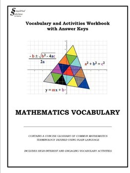Vocabulary And Activities Workbook with Keys-for Math Inc Simplified Solutions