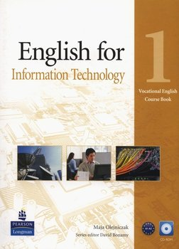 Vocational English: English for information technology 1. Course Book A1-A2 + CD-Olejniczak Maja