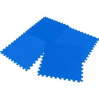 VS, Mata puzzle piankowe, 60x60, niebieski-EB Fit