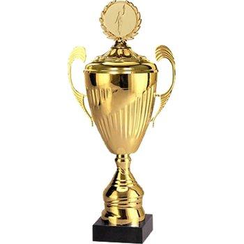 VS, Puchar złoty z przykrywką, 7098/EP, metalowy-VS
