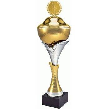 VS, Puchar złoty z przykrywką, 7135/BP, metalowy-VS