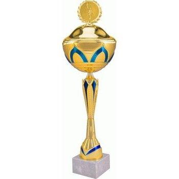 VS, Puchar złoty z przykrywką, 7137/CP, metalowy-VS