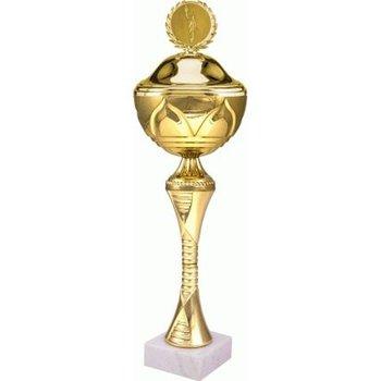VS, Puchar złoty z przykrywką, 8241/CP, metalowy-VS