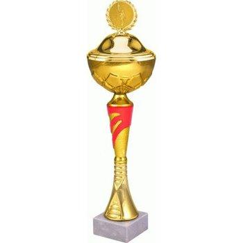 VS, Puchar złoty z przykrywką, 9045/BP, metalowy-VS