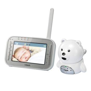 VTech, Elektroniczna Niania, dwukierunkowa z kamerą, Monitor Dect, Miś, BM4200      -VTech