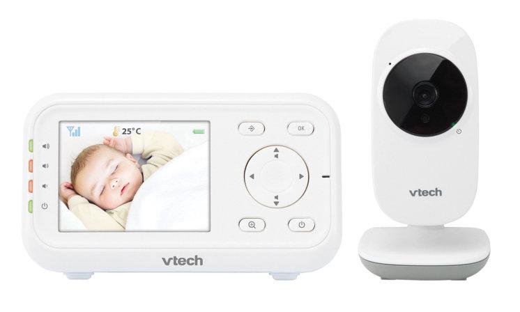Vtech, VM3255,Cyfrowa niania elektroniczna z kamerką, Monitor Dect