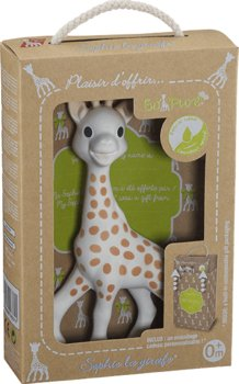 Vulli, zabawka interaktywna Żyrafa Sophie-Vulli