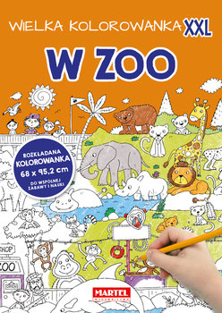 W Zoo. Wielka kolorowanka XXL-Opracowanie zbiorowe