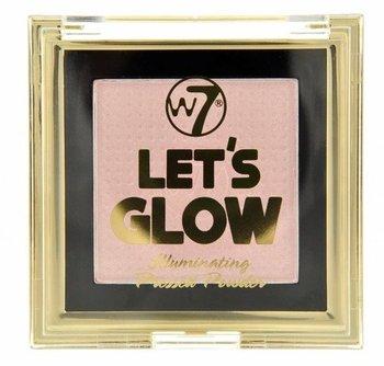 W7 Lets Glow Illuminating Pressed Powder Puder Rozświetlający-W7