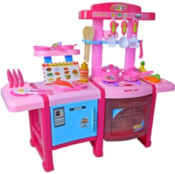 Wabnic, zabawka edukacyjna Kuchnia z lodówką i piekarnikiem-Wabnic