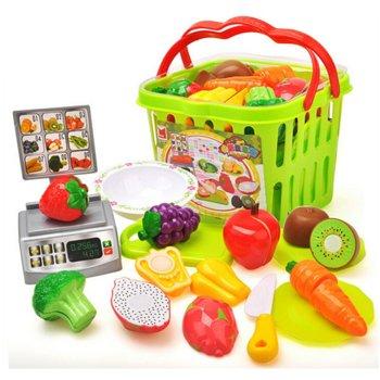 Wabnic, zabawka edukacyjna Owoce i warzywa do krojenia-Wabnic