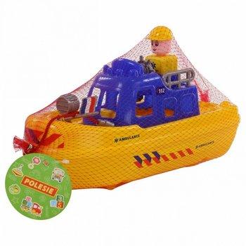 Wader-Polesie, kuter Ambulans Patrol -Wader Quality Toys