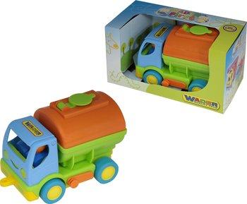 Wader Quality Toys, samochód z cysterną Moja pierwsza ciężarówka-Wader Quality Toys