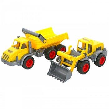Wader, zestaw pojazdów budowlanych-Wader Quality Toys