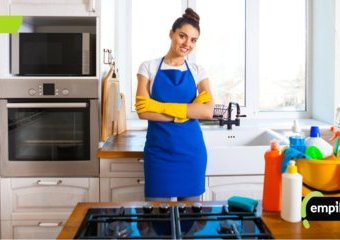 Wakacyjne porządki, czyli jak porządnie wyczyścić kuchnię