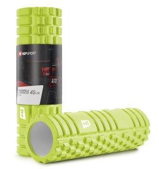 Wałek roller do masażu EVA 45cm limonkowy-Hop-Sport