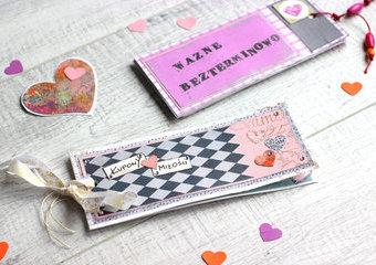 Walentynkowe kupony miłości - stwórz wyjątkowy dodatek do prezentu