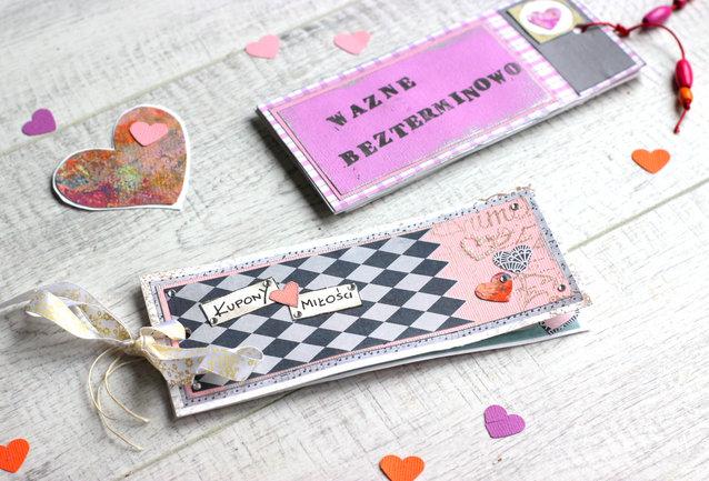 Góra Walentynkowe kupony miłości - stwórz wyjątkowy dodatek do prezentu EJ86