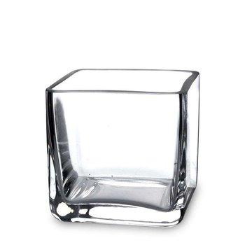 Wazon szklany 10x10x10 cm-Pigmejka
