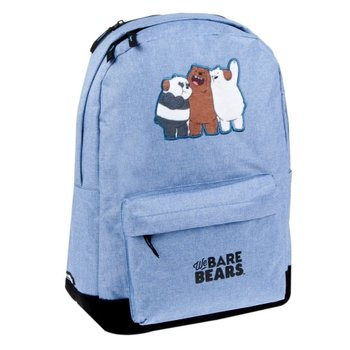 We Bare Bears, plecak szkolny, błękitny-We Bare Bears