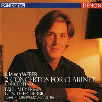 Clarinet Concerto No. 2 in E-Flat Major, Op. 74: I. Allegro-Gunther Herbig , Royal Philharmonic Orchestra