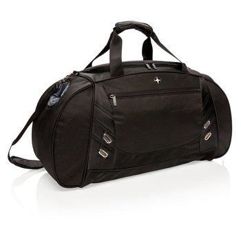 Weekendowa torba podróżna, podręczna Swiss Peak Czarna-SWISS PEAK