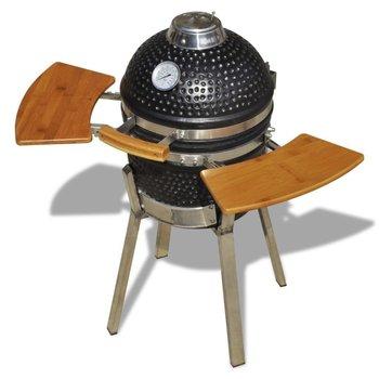 Węglowy grill ogrodowy VIDAXL, ceramiczny, 76cm-vidaXL