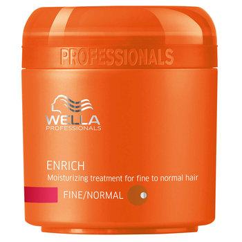 Wella, Enrich, maska nawilżająca do włosów cienkich i normalnych, 150 ml-Wella