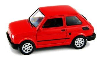 WELLY 1:27 FIAT 126P - czerwony-Welly
